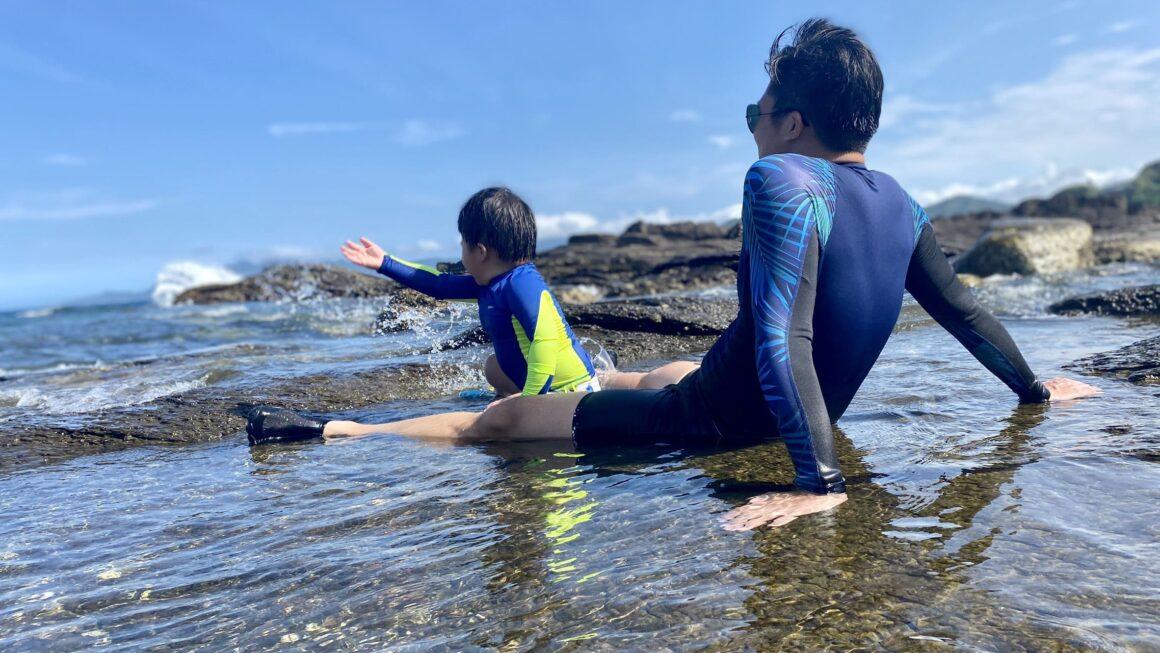 這才叫無邊際泳池!坐擁無敵海景,來四季灣跟魚兒一起水中游,抓螃蟹寄居蟹!