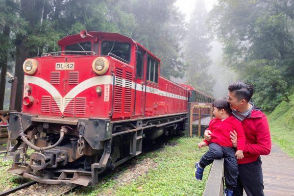 再遠都值得,三歲男孩圓夢之阿里山小火車攻略,霧氣繚繞百年鐵道,漫步雲海收盡美景。