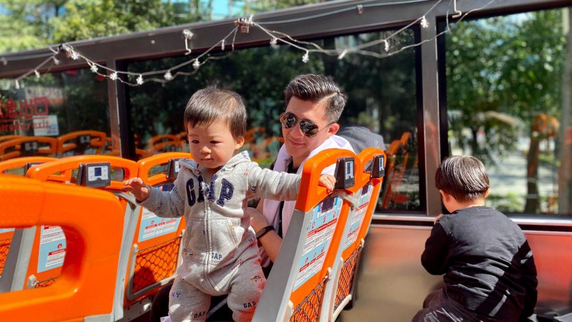 疫情期間最安全的大眾運輸,跟孩子一起搭台北觀光雙層巴士!用4公尺高的全新角度看台北,愜意到彷彿身處歐洲。